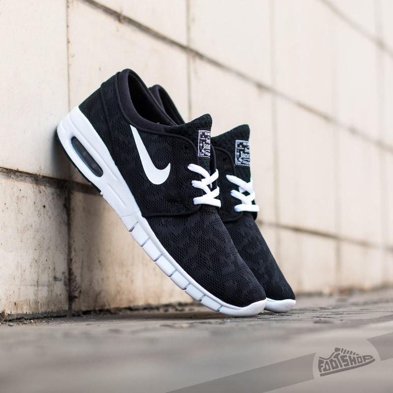 Nike Stefan Janoski Max Black/ White