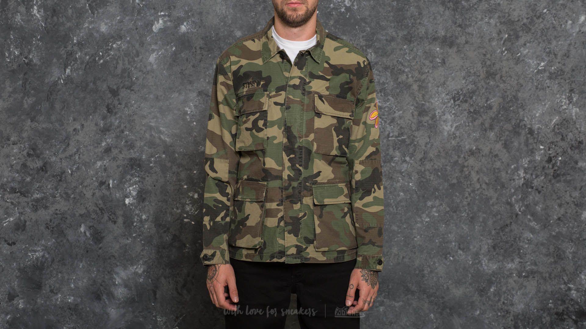 Stüssy Letts BDU Jacket Camo