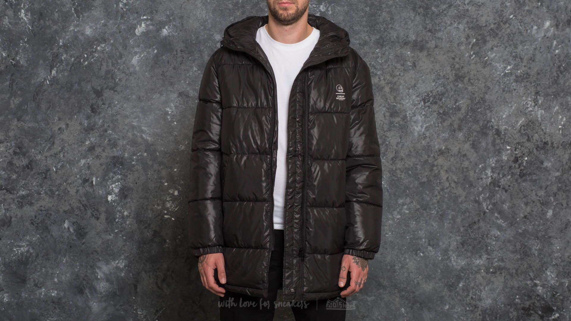 Cheap Monday Cocoon Jacket Black