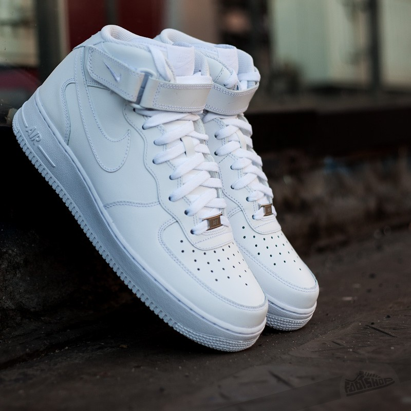 Nike Air Force 1 Mid ´07 White/White