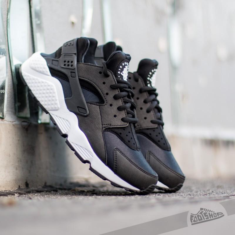 Nike Air Huarache Run Black/ Black/ White