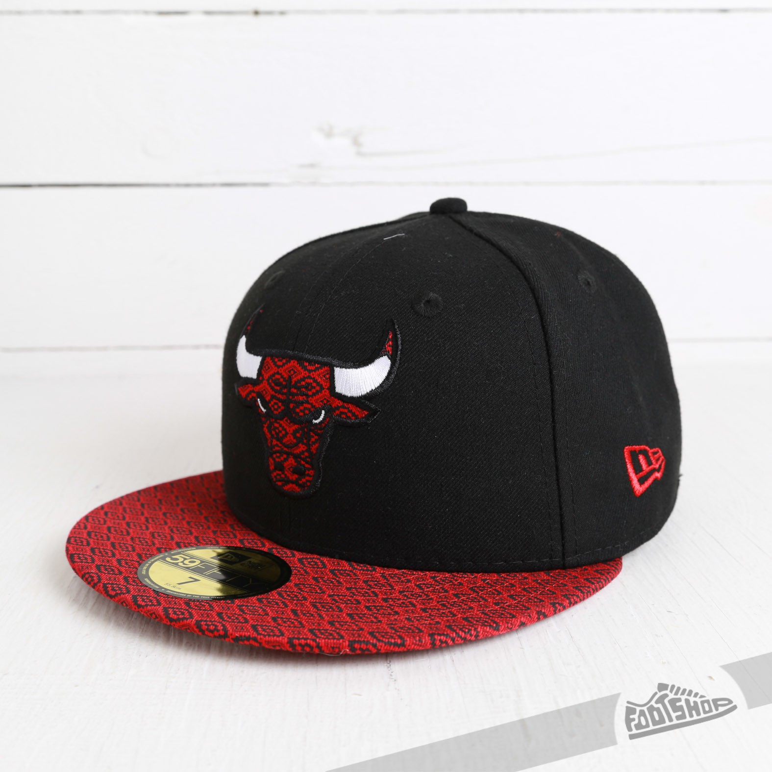 New Era 59FIFTY Fitted Visor Fit Chicago Bulls