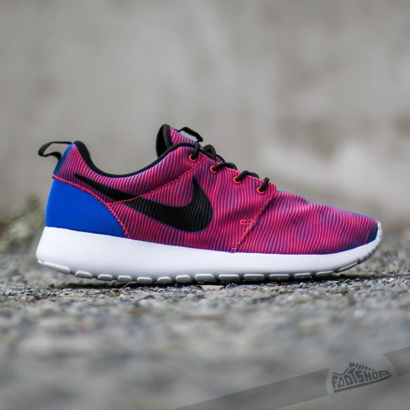 Nike Roshe One Premium Plus Racer Blue  Black-Bright Crimson Pánské boty e8fd287678e