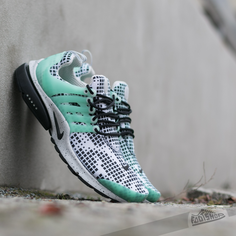 Nike Air Presto GPX White/ Black - Green Glow - Natural Grey