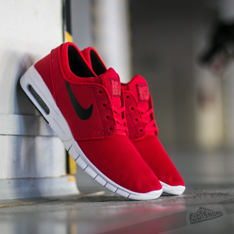 Nike Stefan Janoski Max University Red/ Black- White