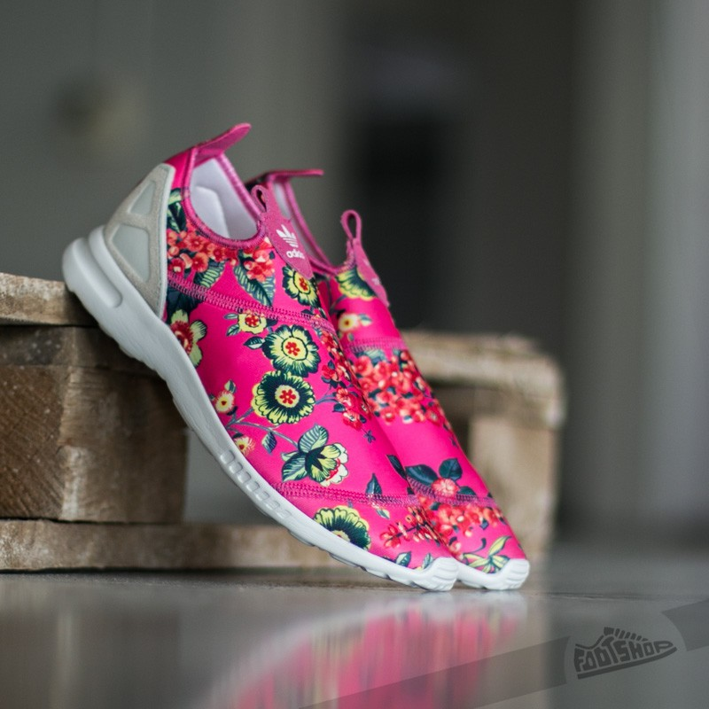 adidas ZX Flux ADV Smooth Slip On Ray Pink/ Owwhite/ Ray Pink
