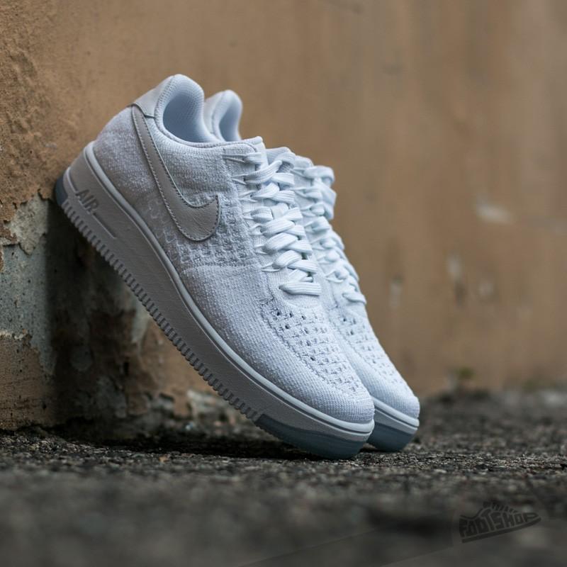Nike W Air Force 1 Flyknit Low White/ White