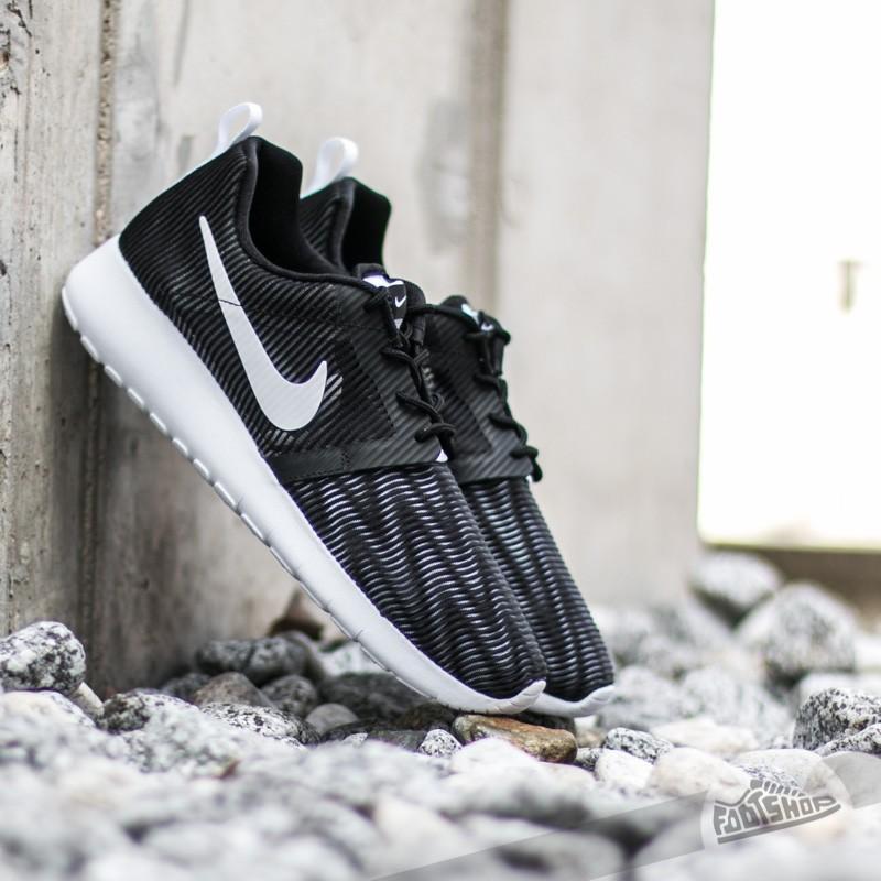 Nike Roshe One Flight Weight (GS) Black/ White