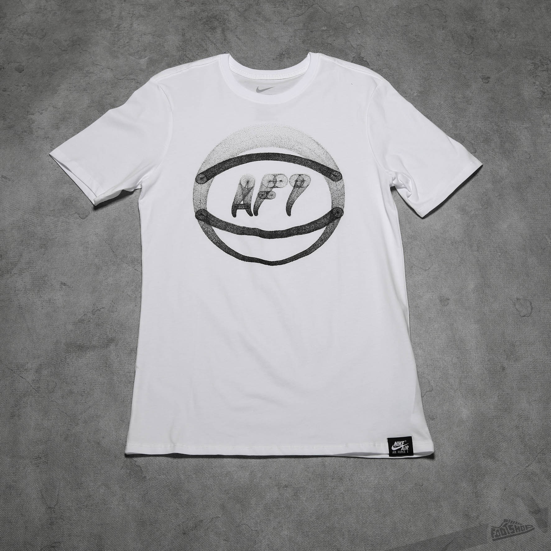 Nike Air force 1 Ball Art Tee White