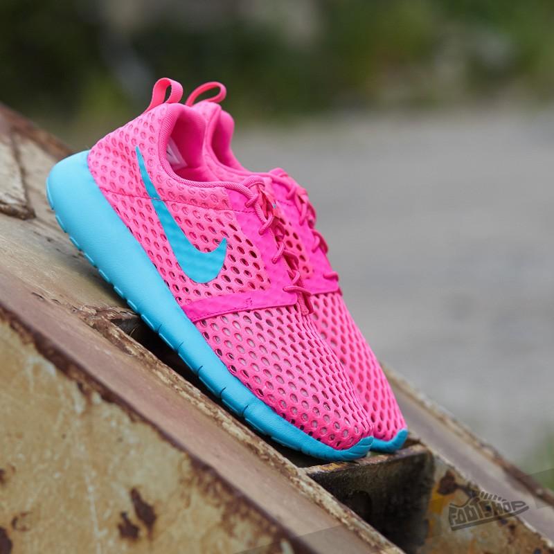 Nike Roshe One Flight Weight (GS) Pink Blast/ Gamma Blue