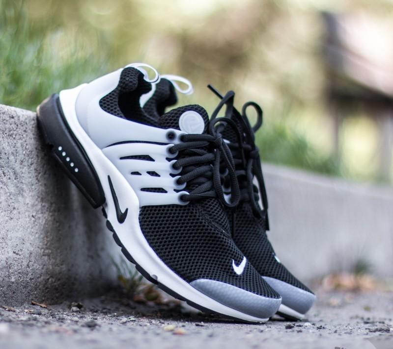 Nike Air Presto Black/ Black- White- Neutral Grey