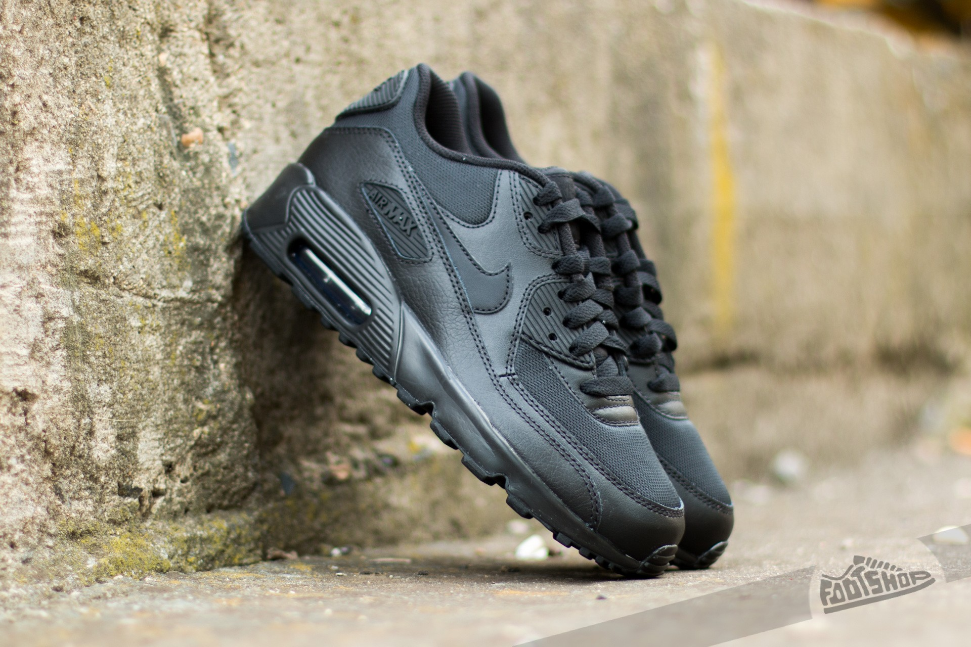 Nike Air Max 90 Mesh (GS) Black/ Black