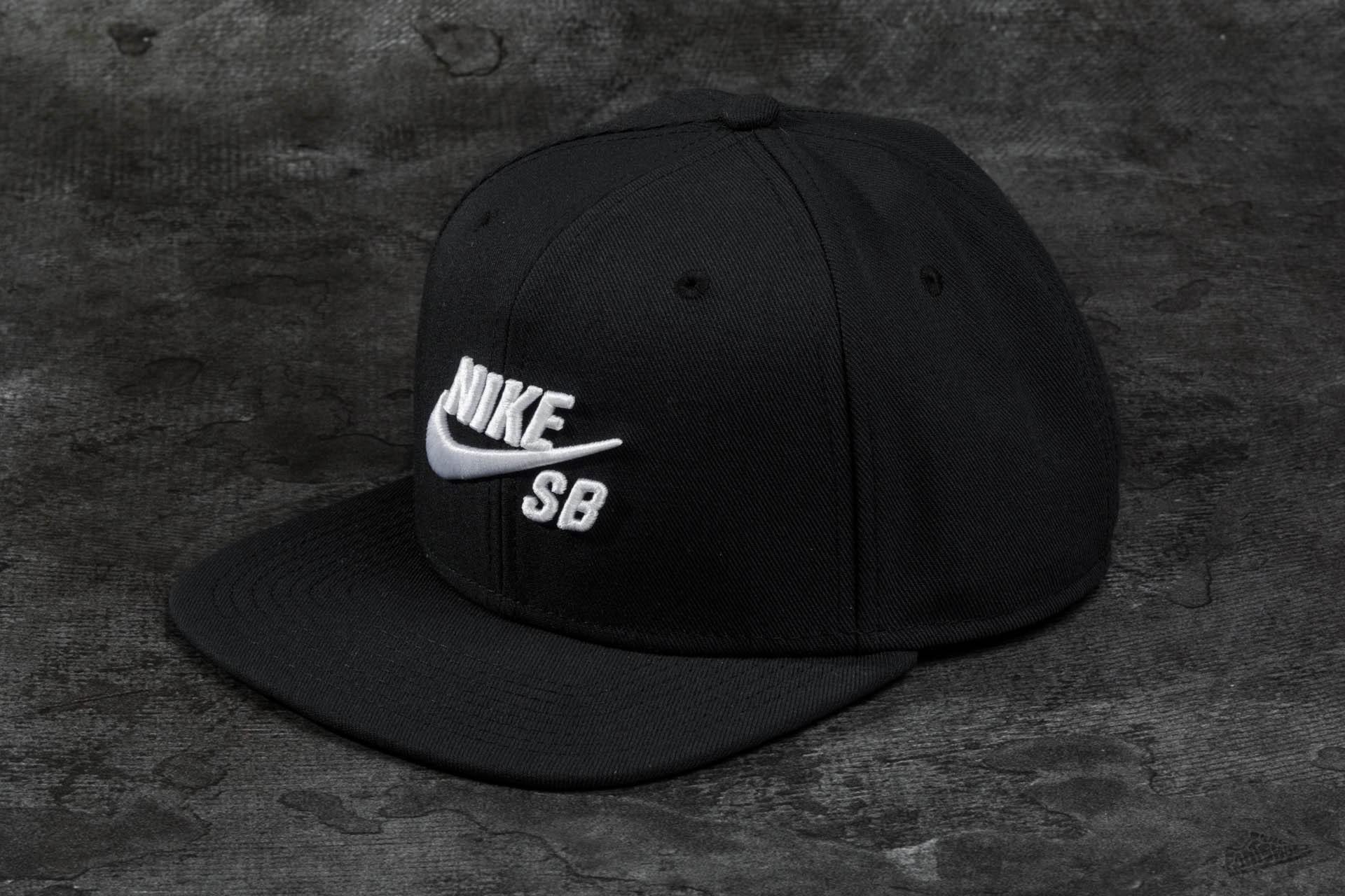 Nike SB Icon Pro Snapback Black