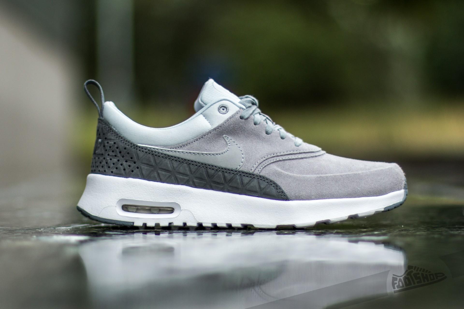 f82af609821 Nike W Air Max Thea Premium Leather Matte Silver  Matte Silver-Pure  Platinum Dámské