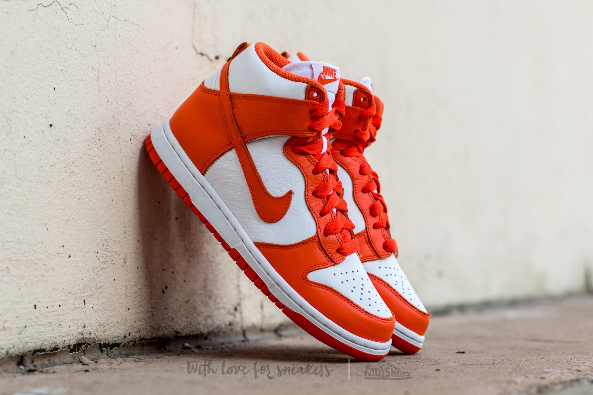 Nike Dunk Retro QS White/ Orange Blaze