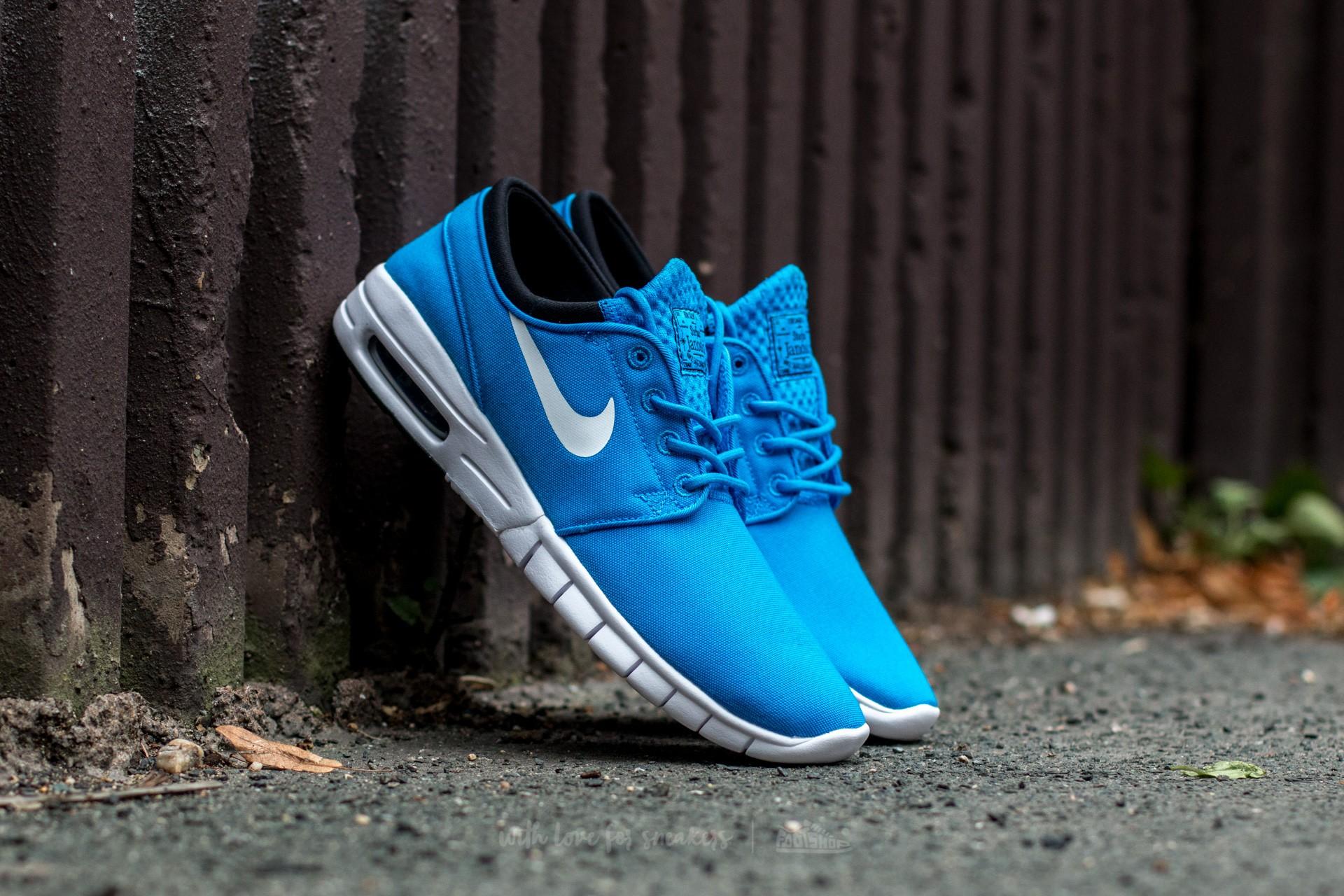 Nike Stefan Janoski Max Photo Blue/ White-Black