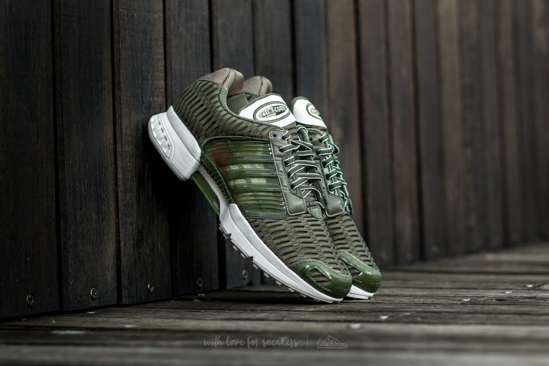 adidas Clima Cool 1 Base Green/ Vintage White/ Base Green