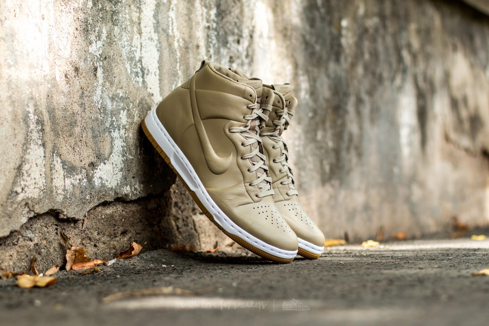 Nike Dunk Ultra Craft Khaki/ Khaki-White-Gum Light Brown