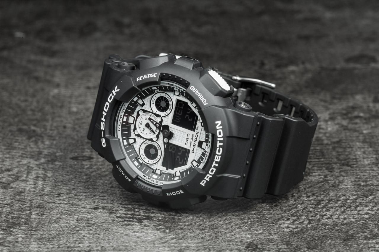 G-Shock GA-100BW-1AER