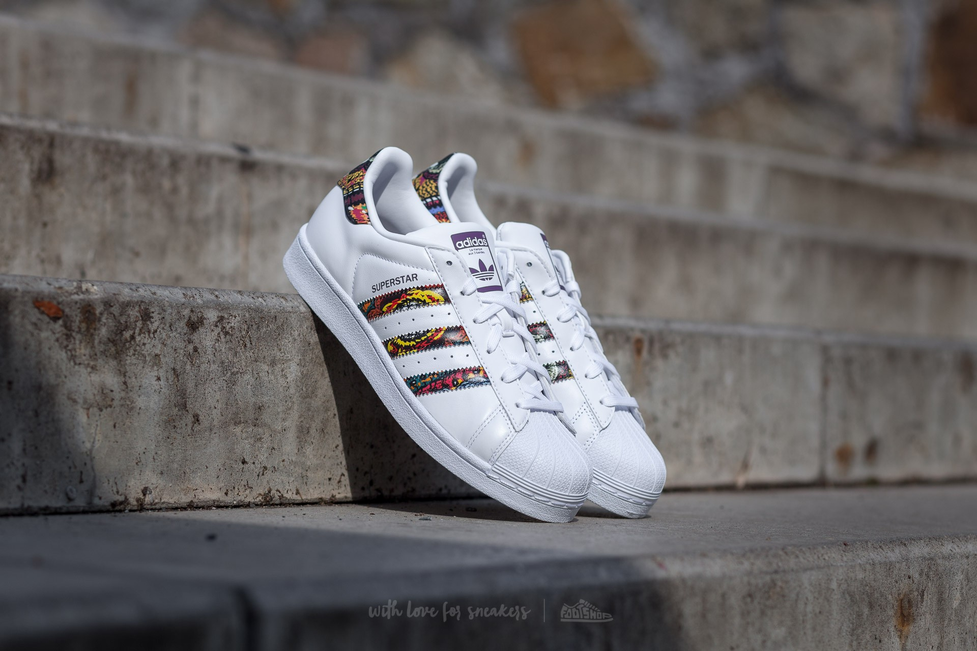 adidas Superstar W Ftw White/ Ftw White/ Mid Grape