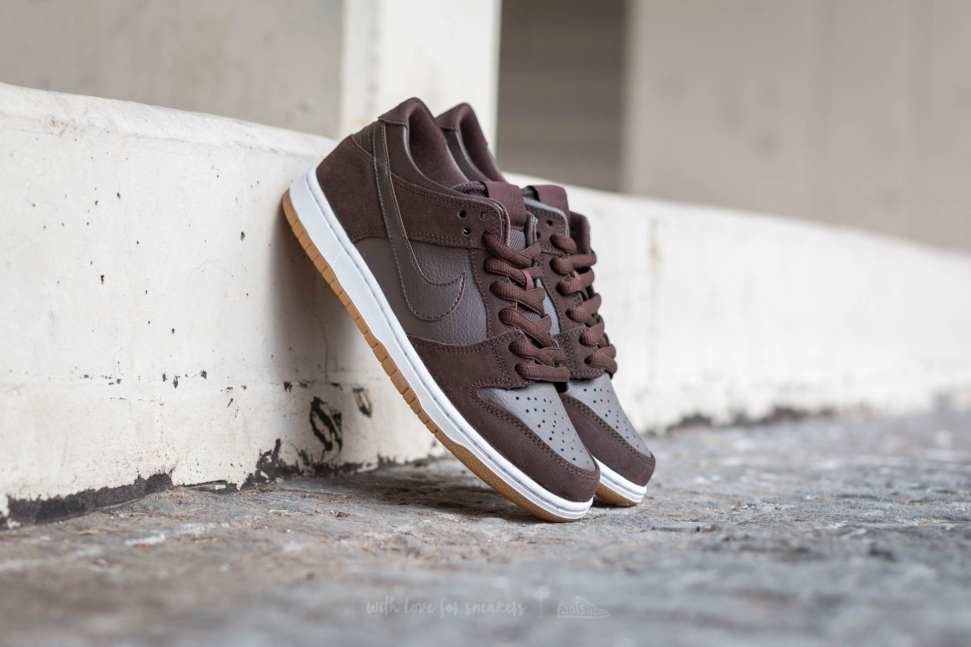 Nike Dunk Low Pro Ishod Wair Baroque Brown/ Baroque Brown-White
