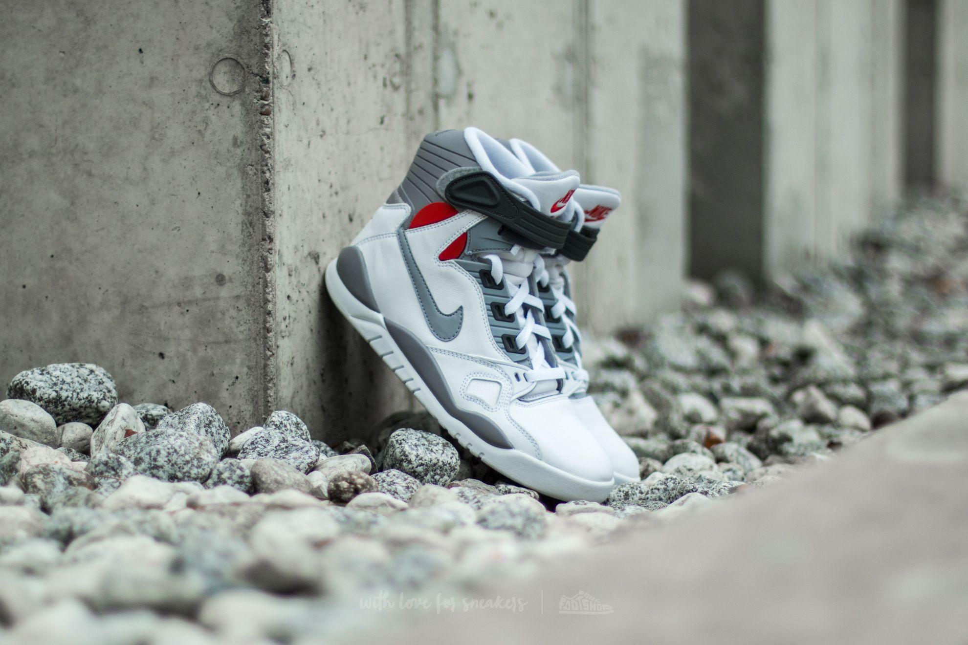 Nike Air Pressure White/ Cement Grey
