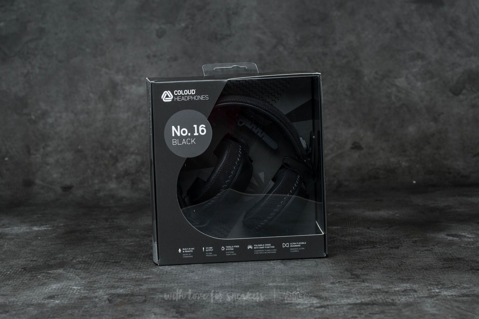 Coloud No. 16 Headphones Black-Grey