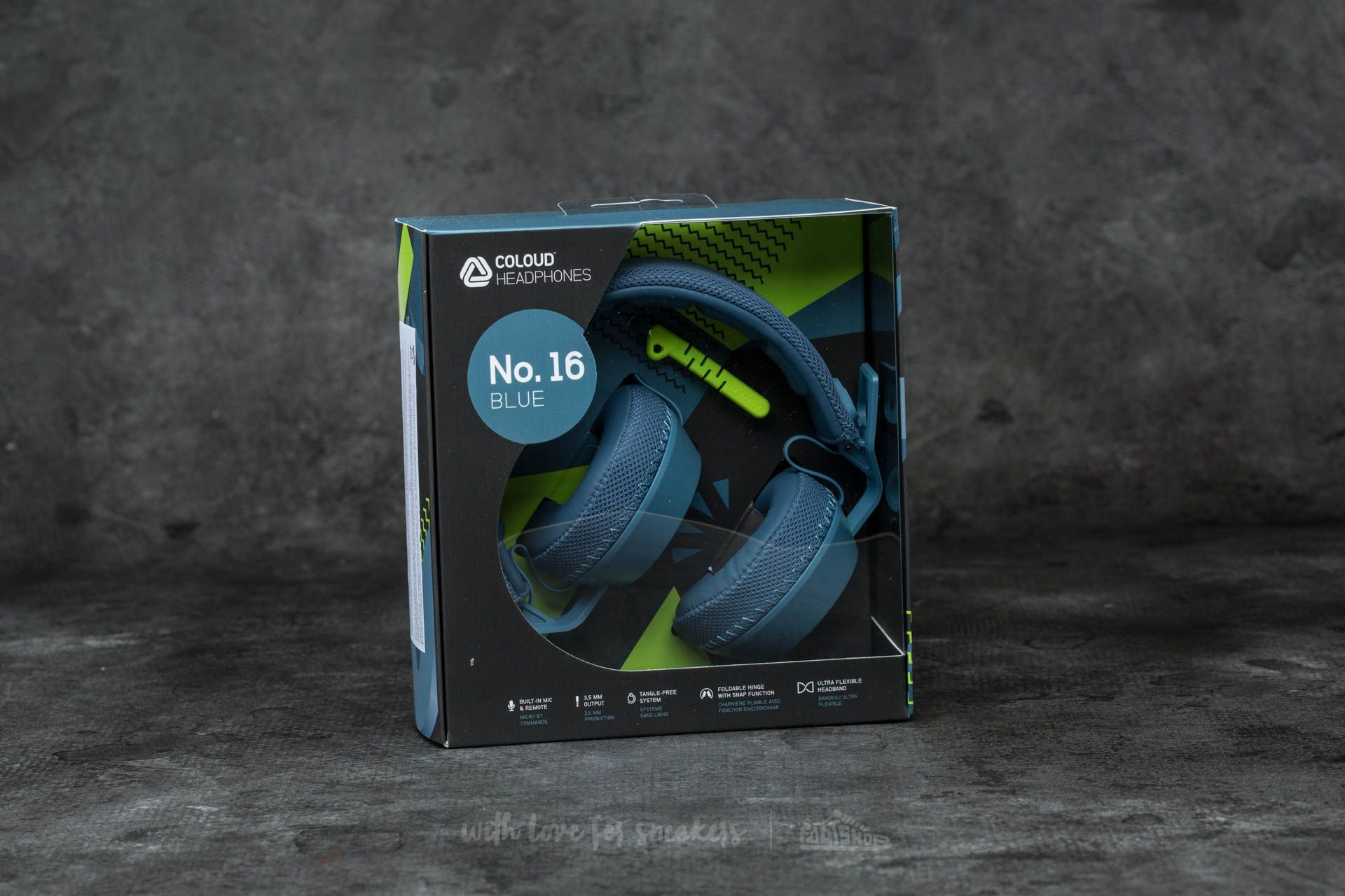 Coloud No. 16 Headphones Blue-Yellow