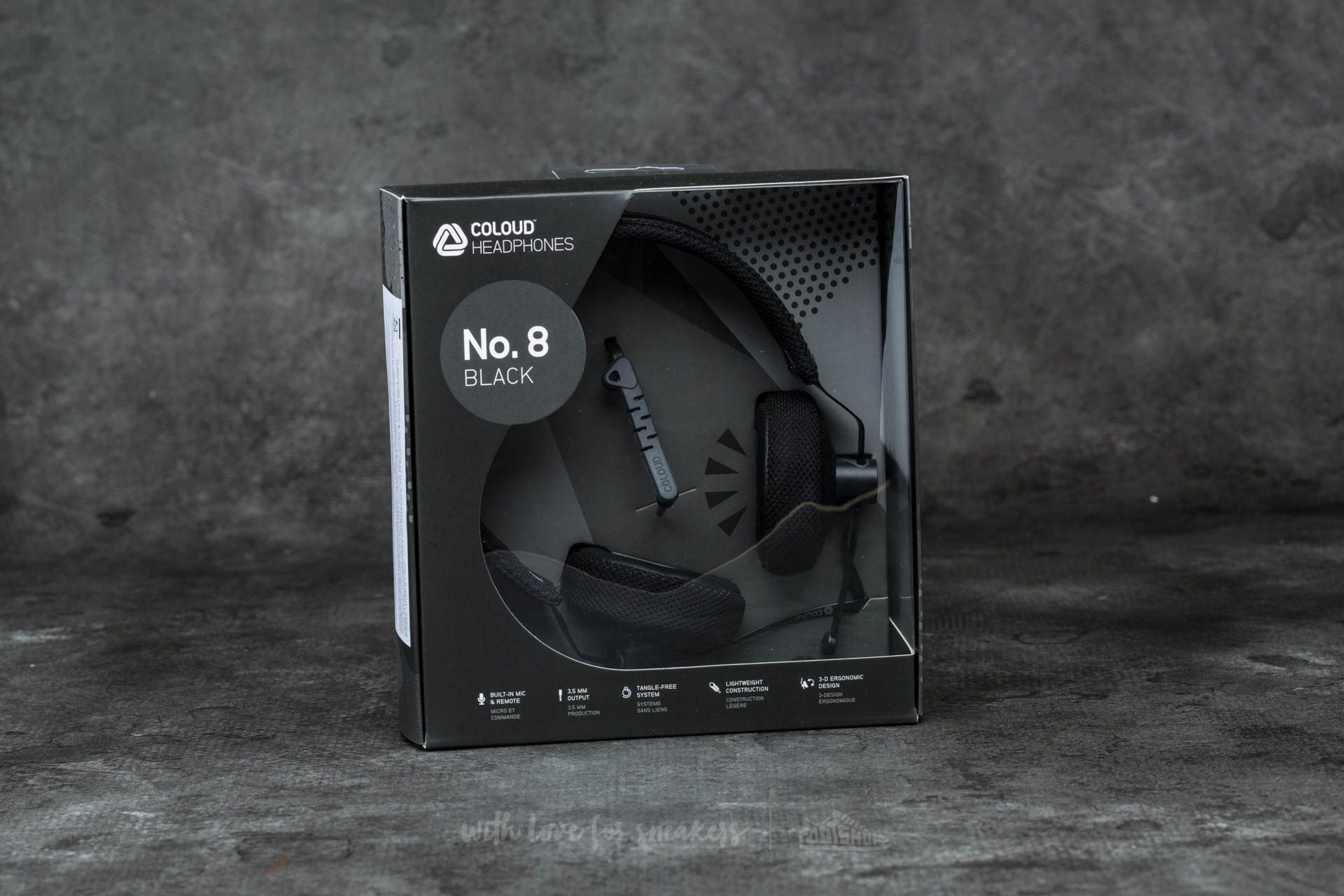 Coloud No. 8 Headphones Black-Grey