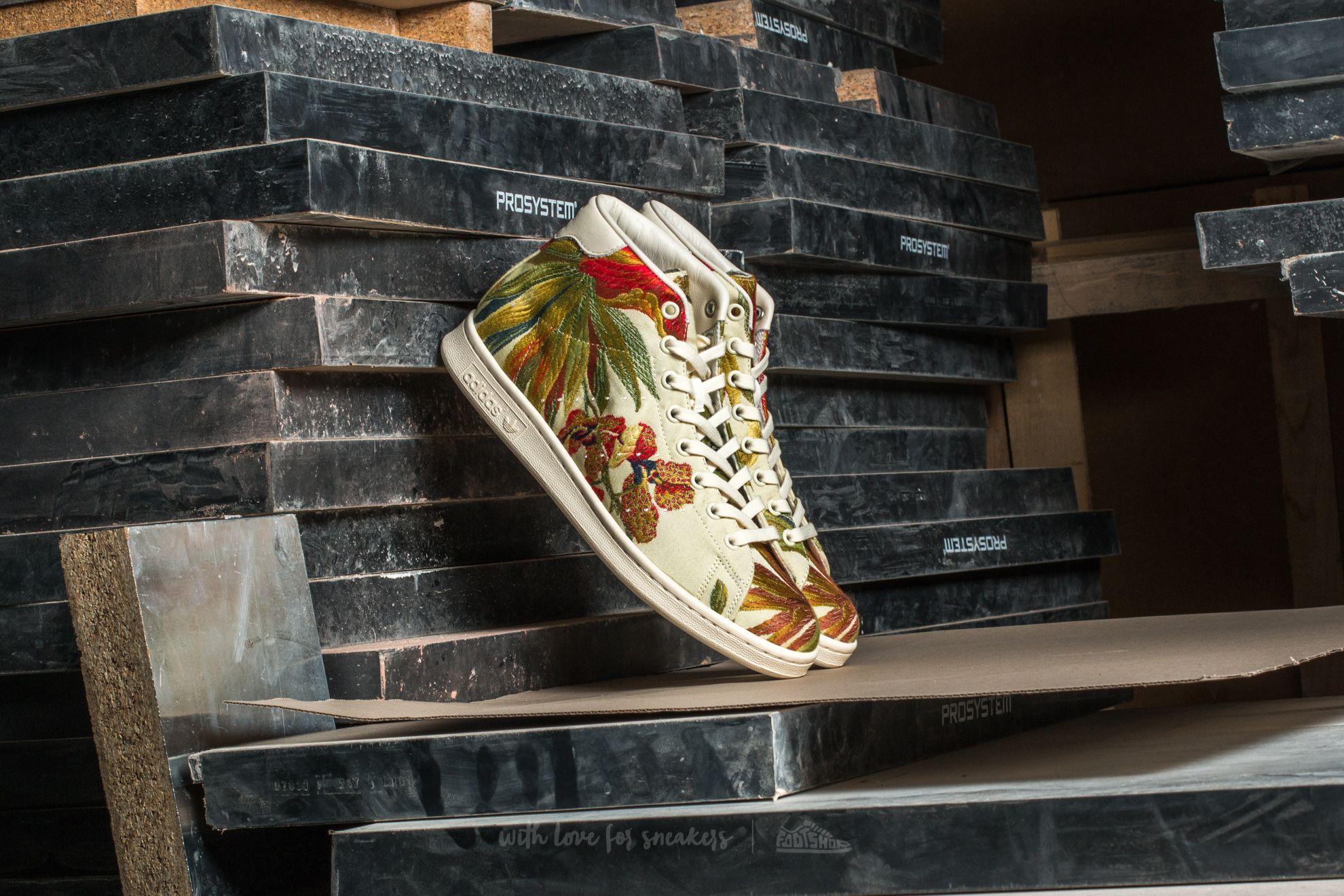 adidas Stan Smith Mid Jacquard Core White/ Core White/ Core White