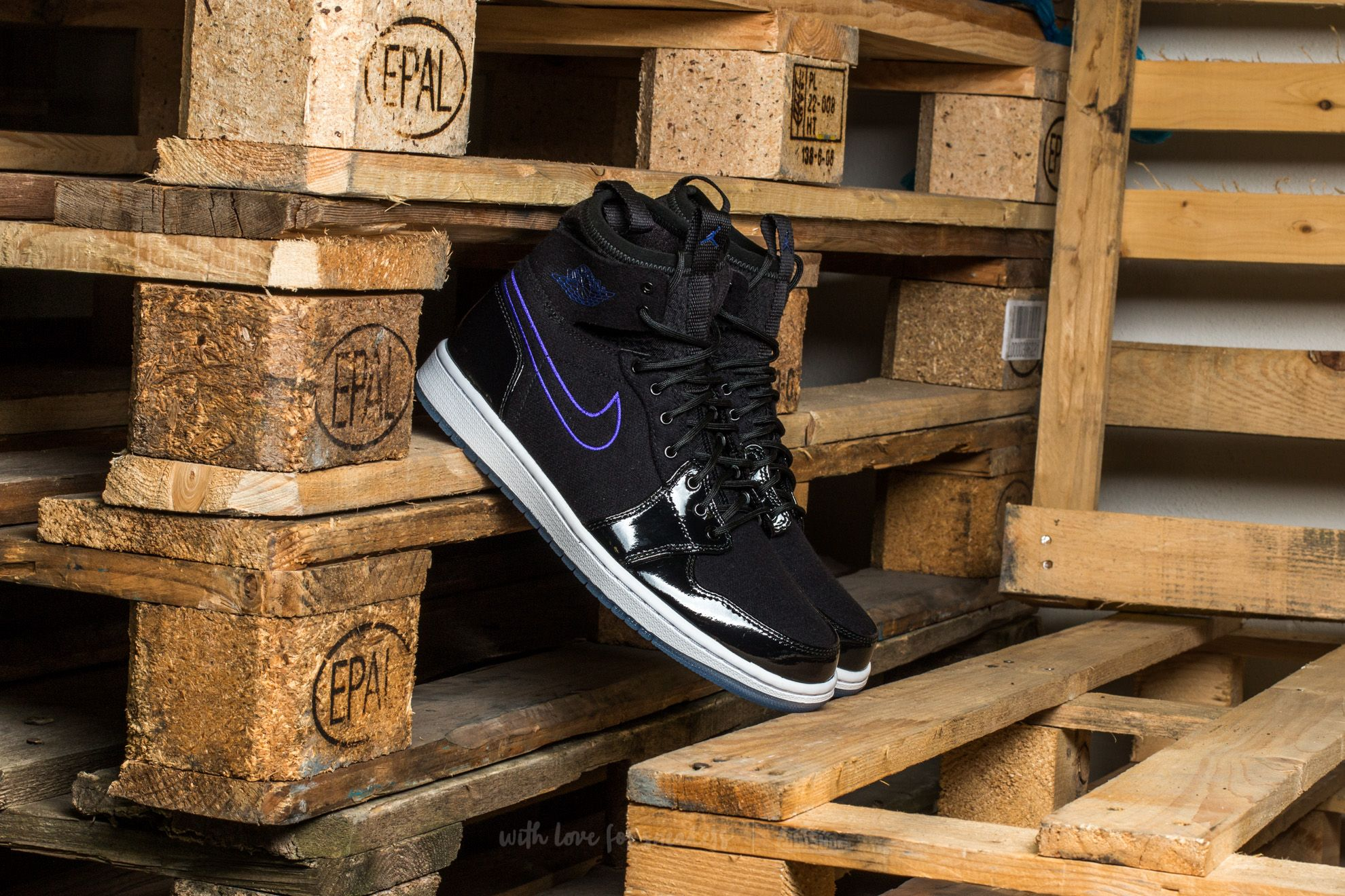 Air Jordan 1 Retro Ultra High Black/ Concord-Black-White