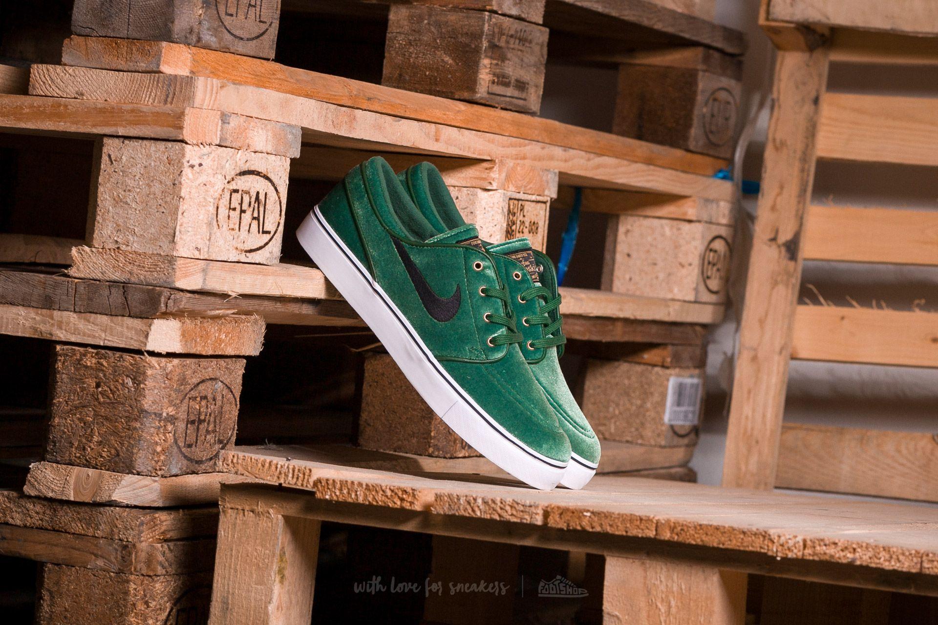 Nike SB Zoom Stefan Janoski Premium Gorge Green/ Black