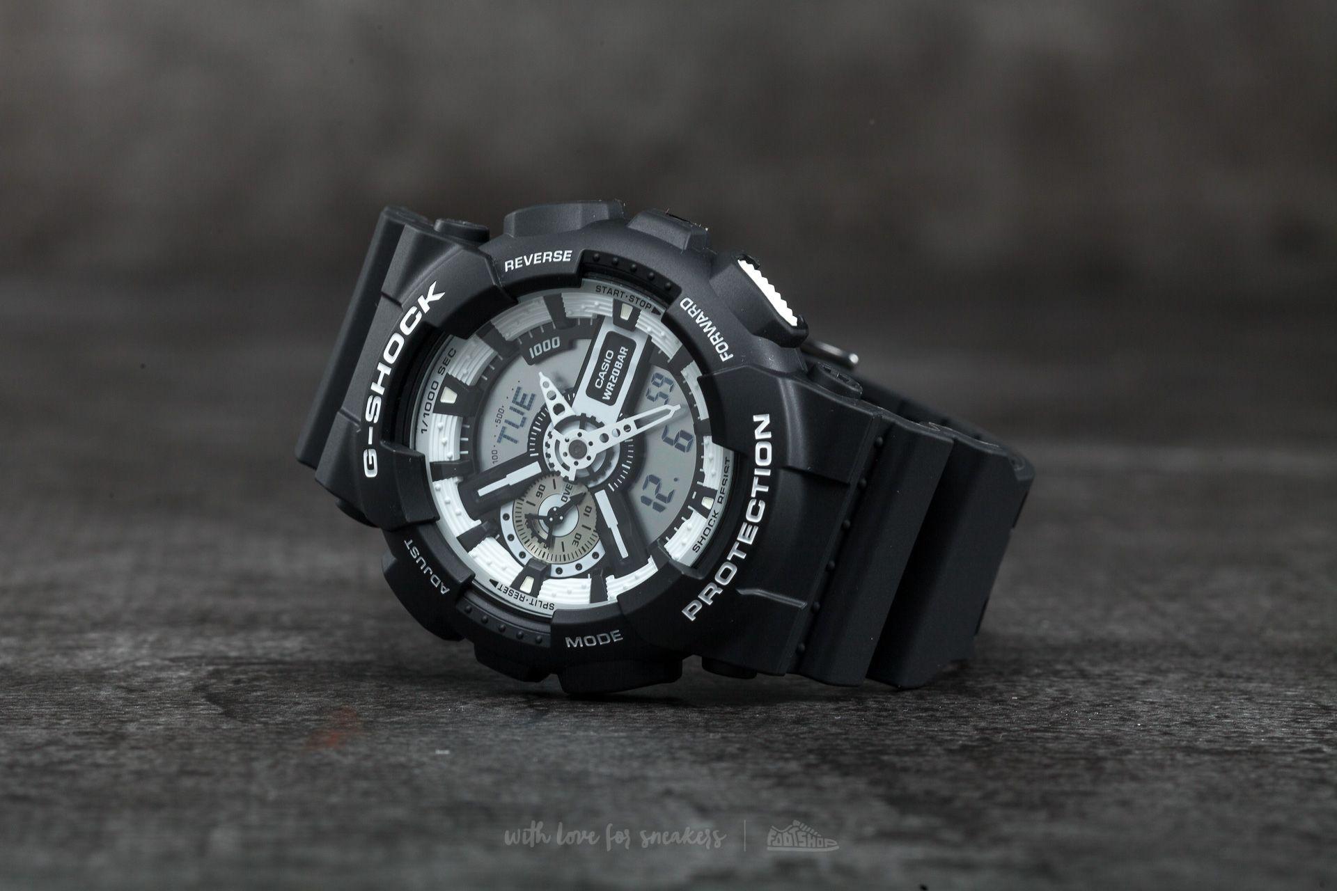 G-Shock GA-110BW-1AER Black
