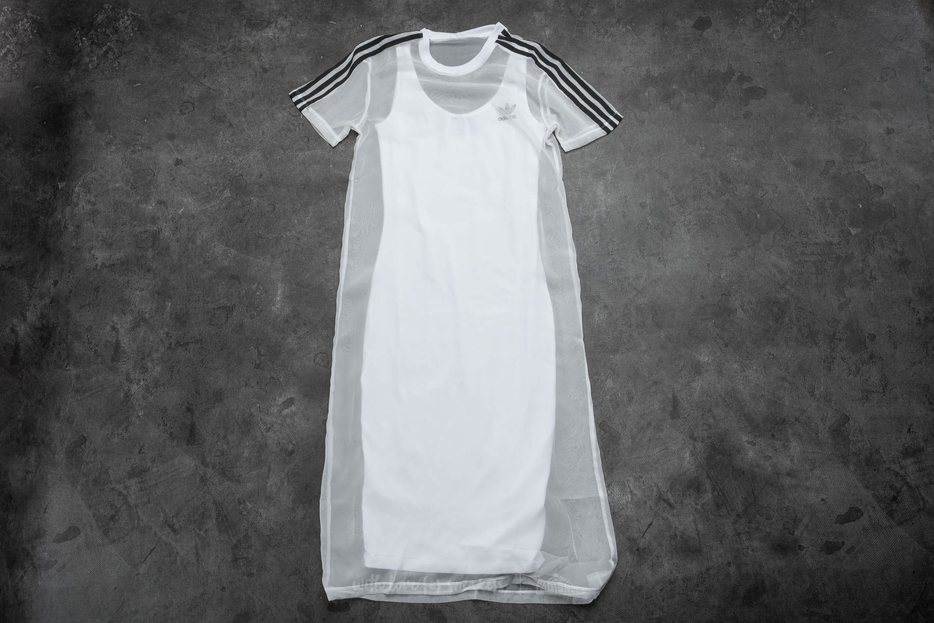 adidas 3 Stripes Layer Dress White