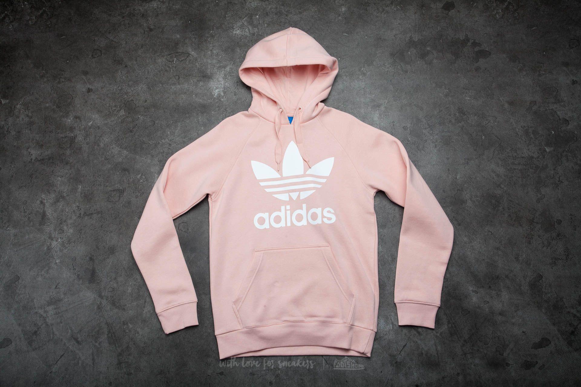 adidas Original Trefoil Hood Vapour Pink