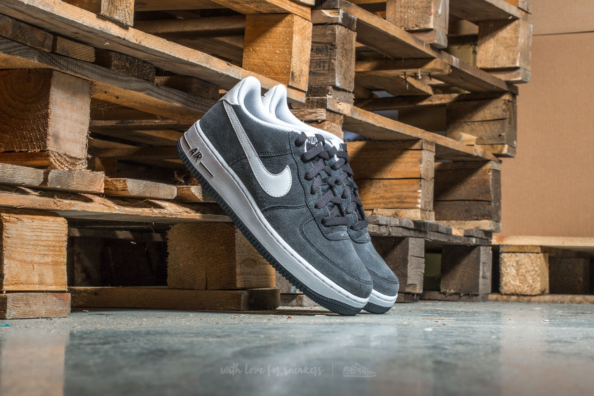 Nike Air Force 1 (GS) Anthracite/ White