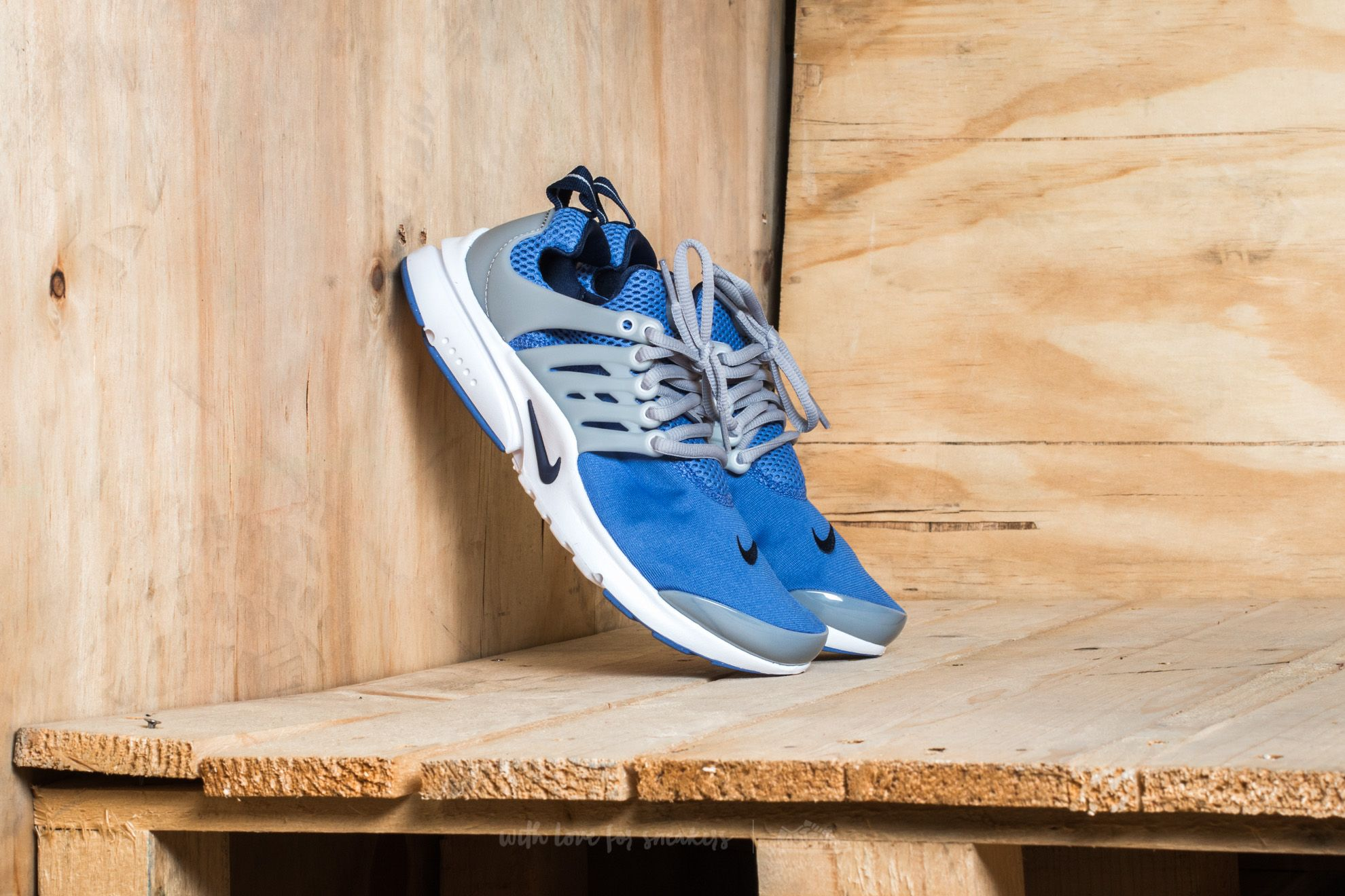 Nike Presto (GS) Comet Blue/ Binary Blue