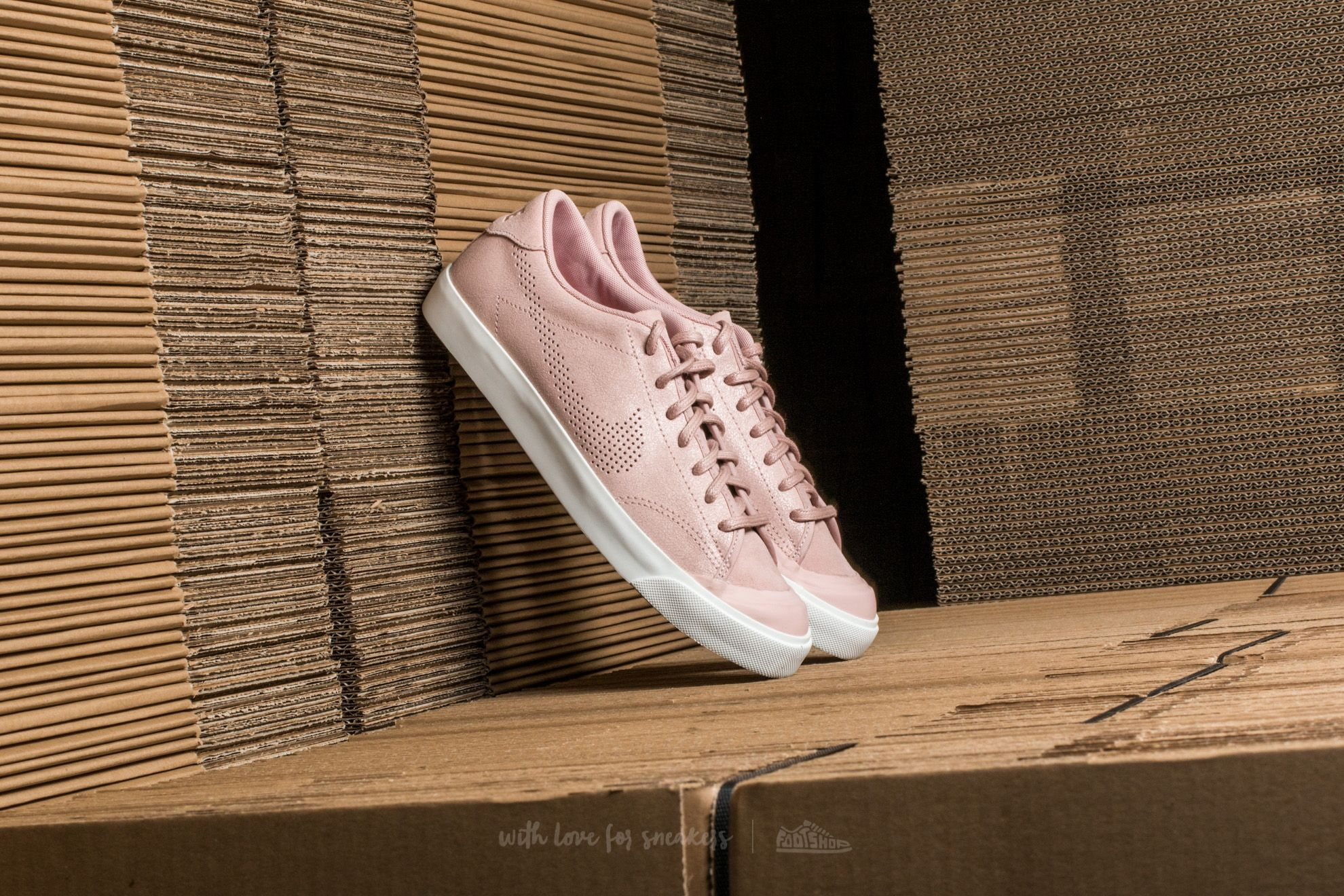 Nike W All Court 2 Premium Pink Oxford/ Pink Oxford