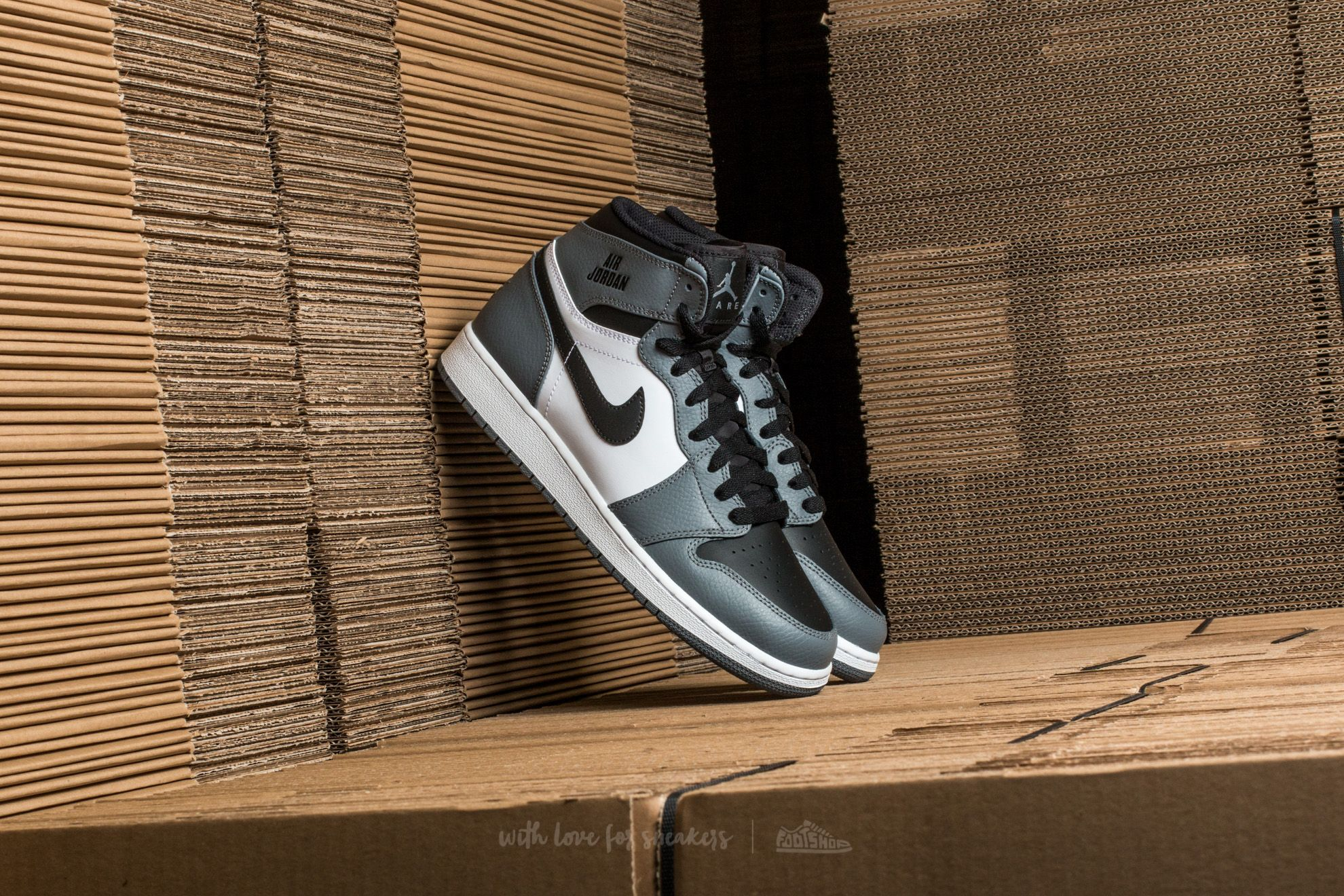 Air Jordan 1 Retro High (BG) Cool Grey/ Cool Grey-White