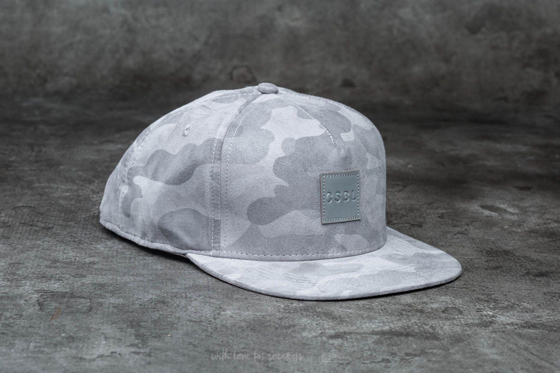 Cayler & Sons CSBL Millennivm Cap Stone Camo/ Reflective Grey