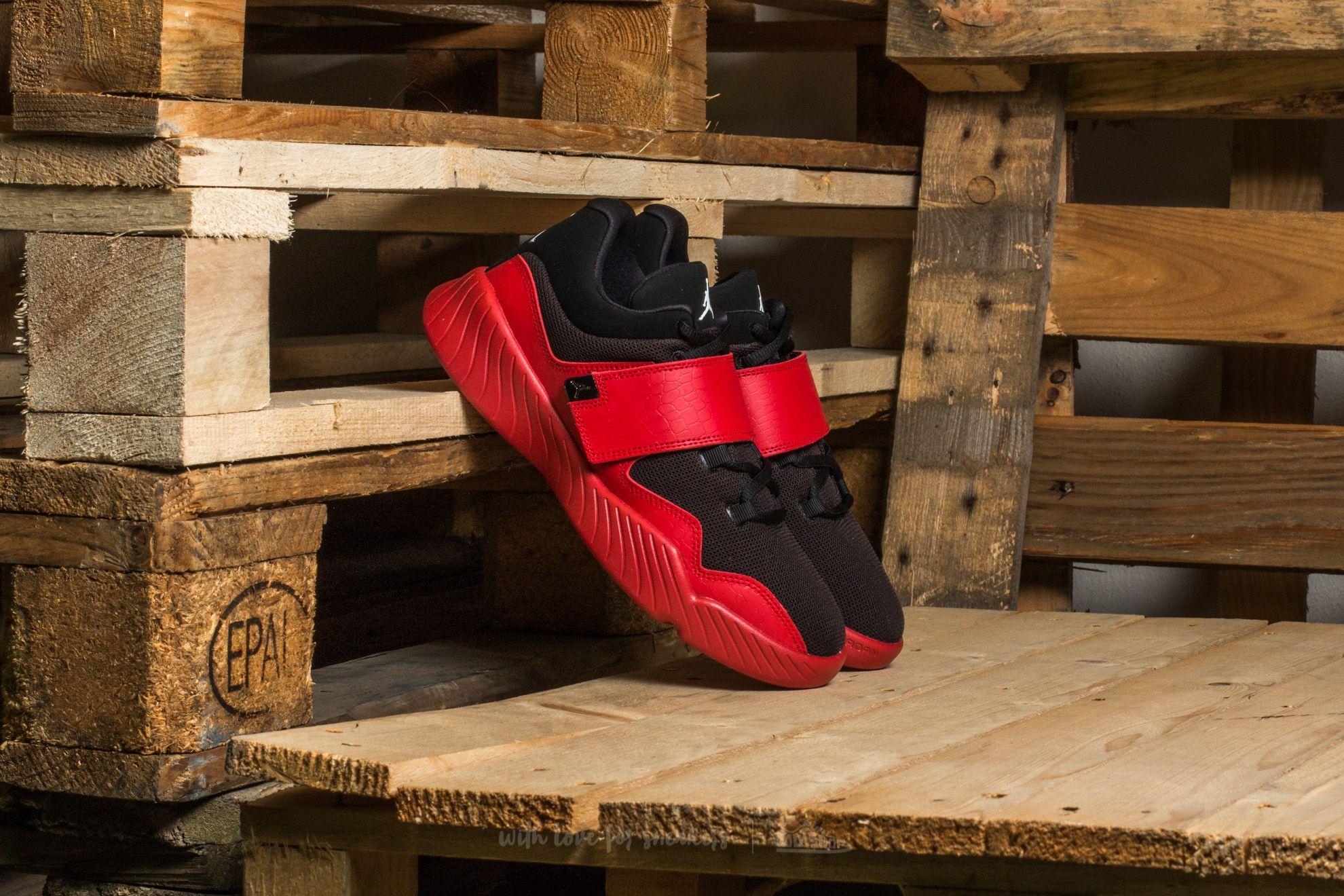 Jordan J23 BG Black/ White-Gym Red