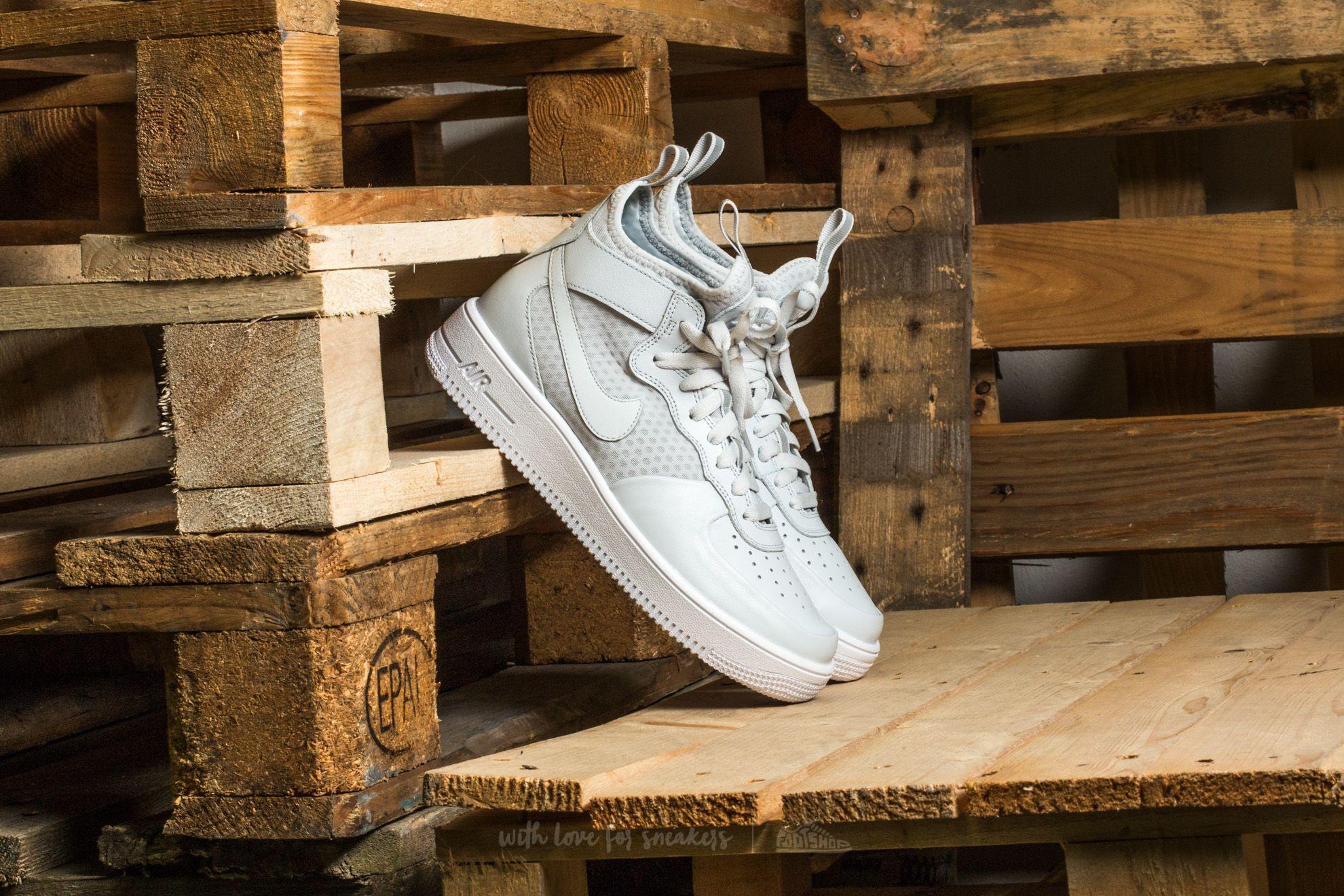 Nike Air Force 1 Ultraforce Mid Pure Platinum/ Pure Platinum