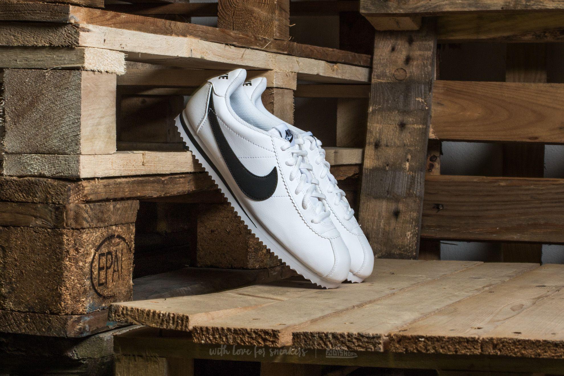 Nike Cortez (GS) White/ Black