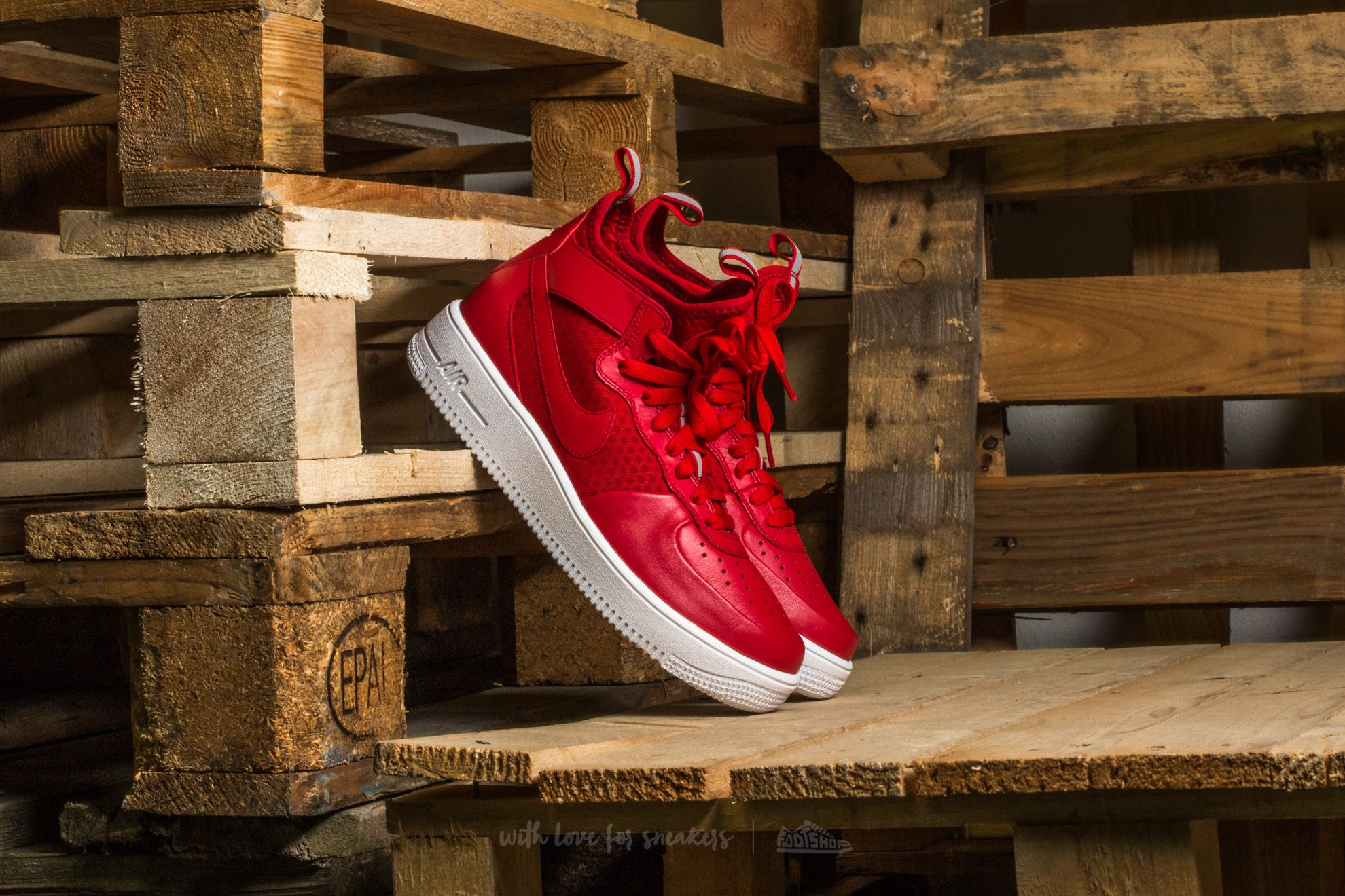 Nike Air Force 1 Ultraforce Gym Red/ Gym Red-White