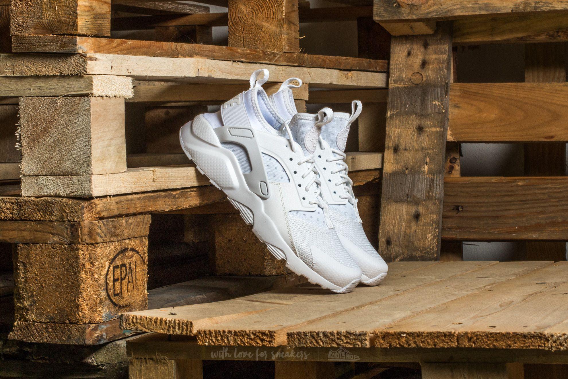 Nike Air Huarache Run Ultra (GS) White/ White-White