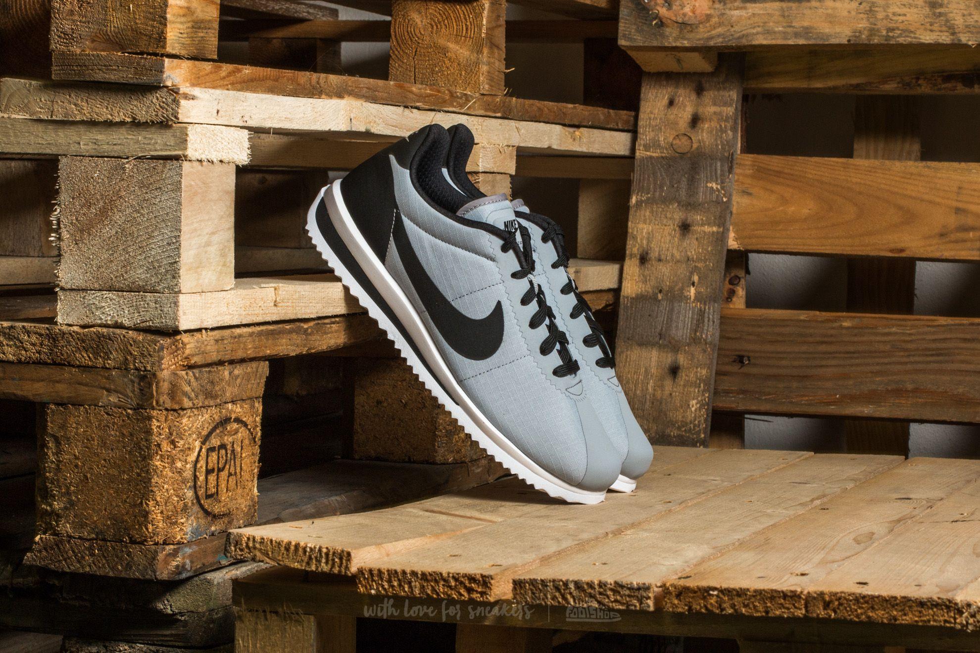Nike Cortez Ultra Wolf Grey/ Black-White