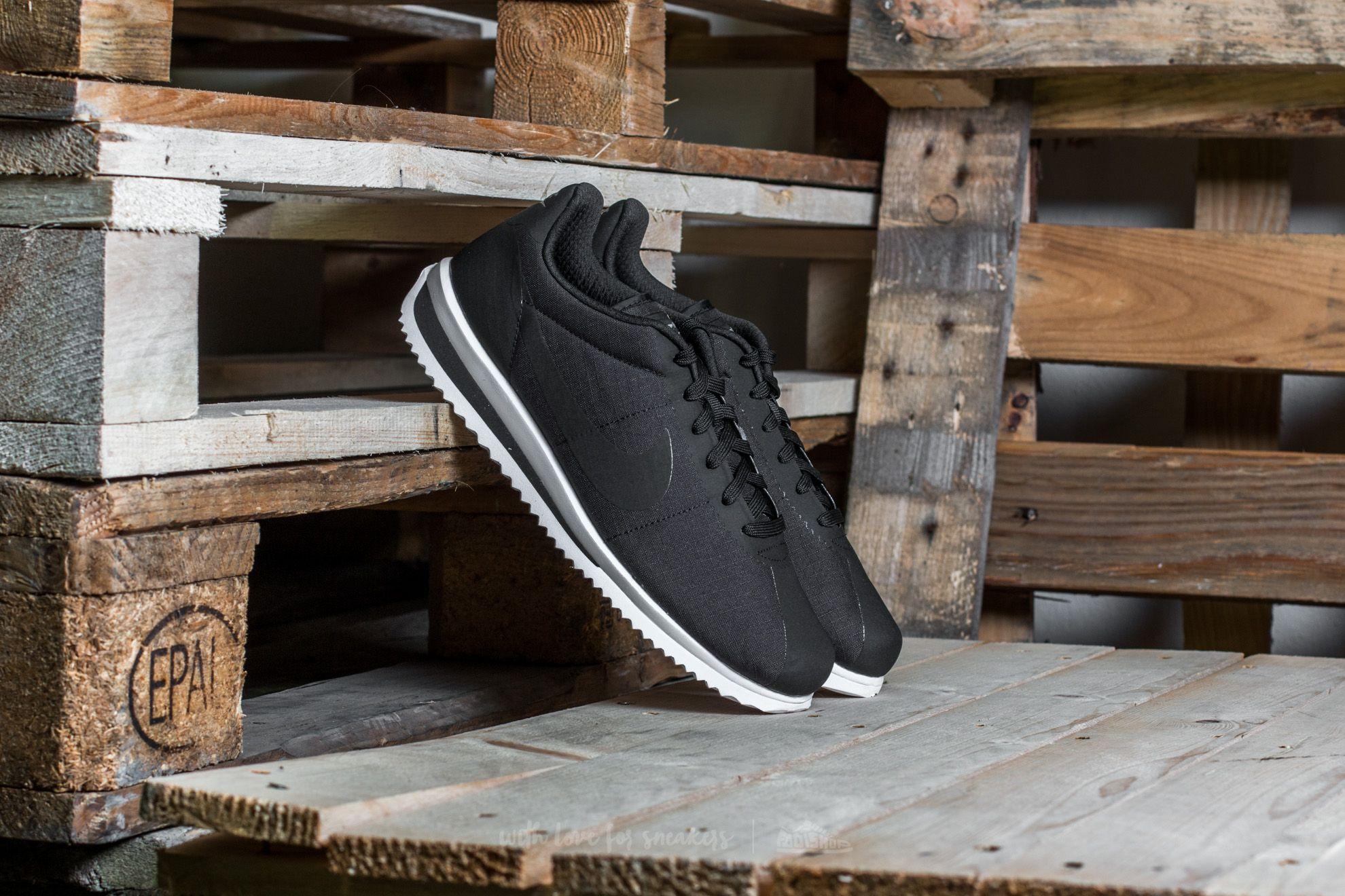Nike Cortez Ultra Black/ Black-Cool Grey-White