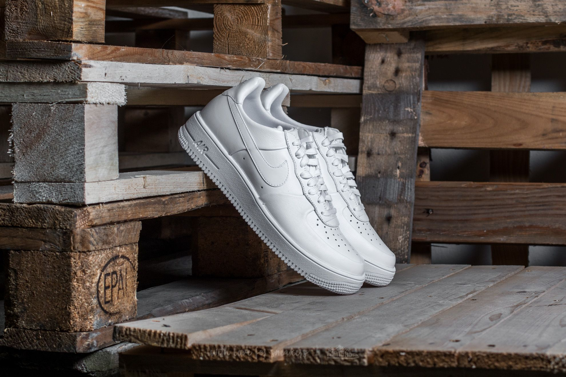 Nike Air Force 1 Ultraforce Leather White/ White-White