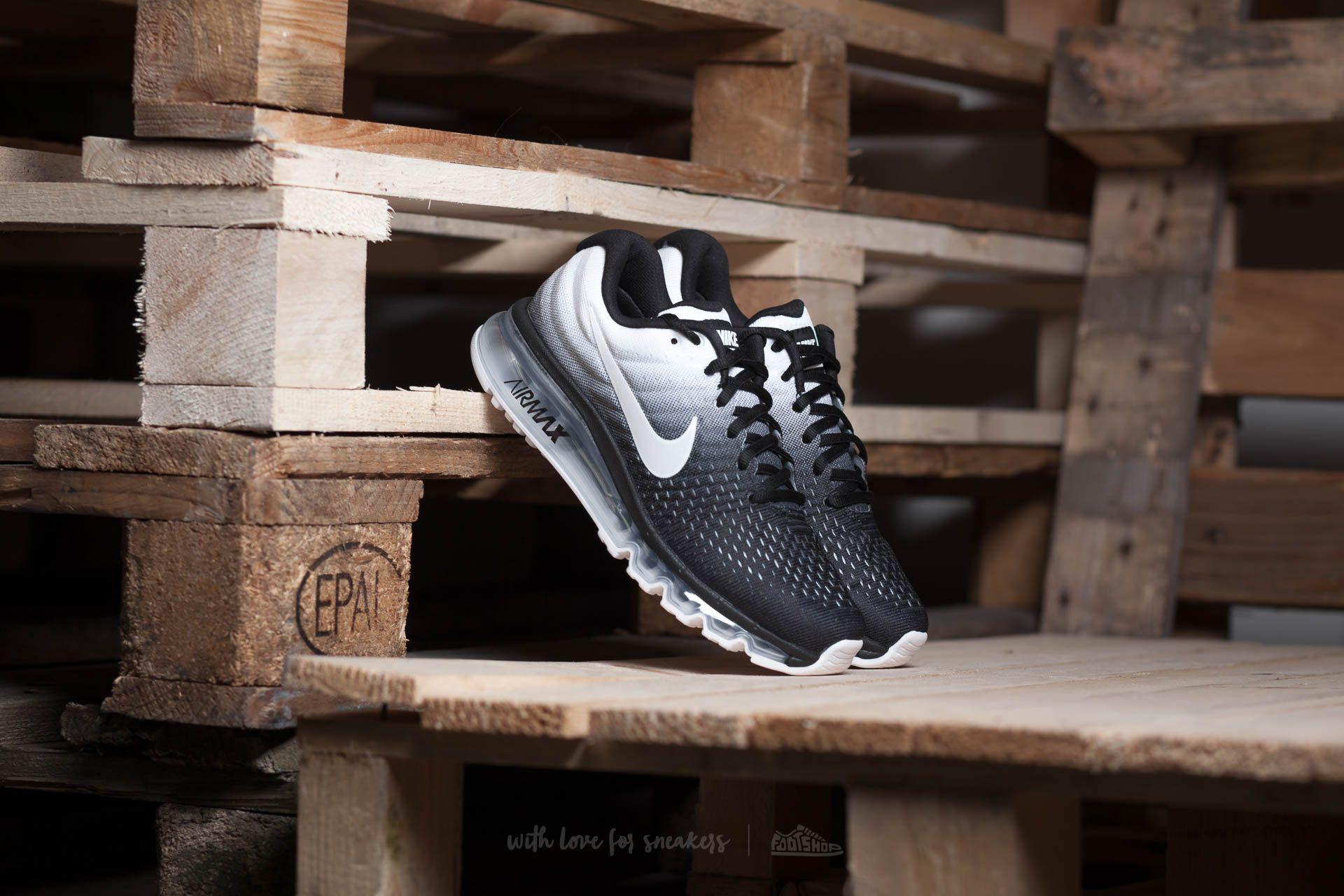 Nike Air Max 2017 (GS) Black/ White