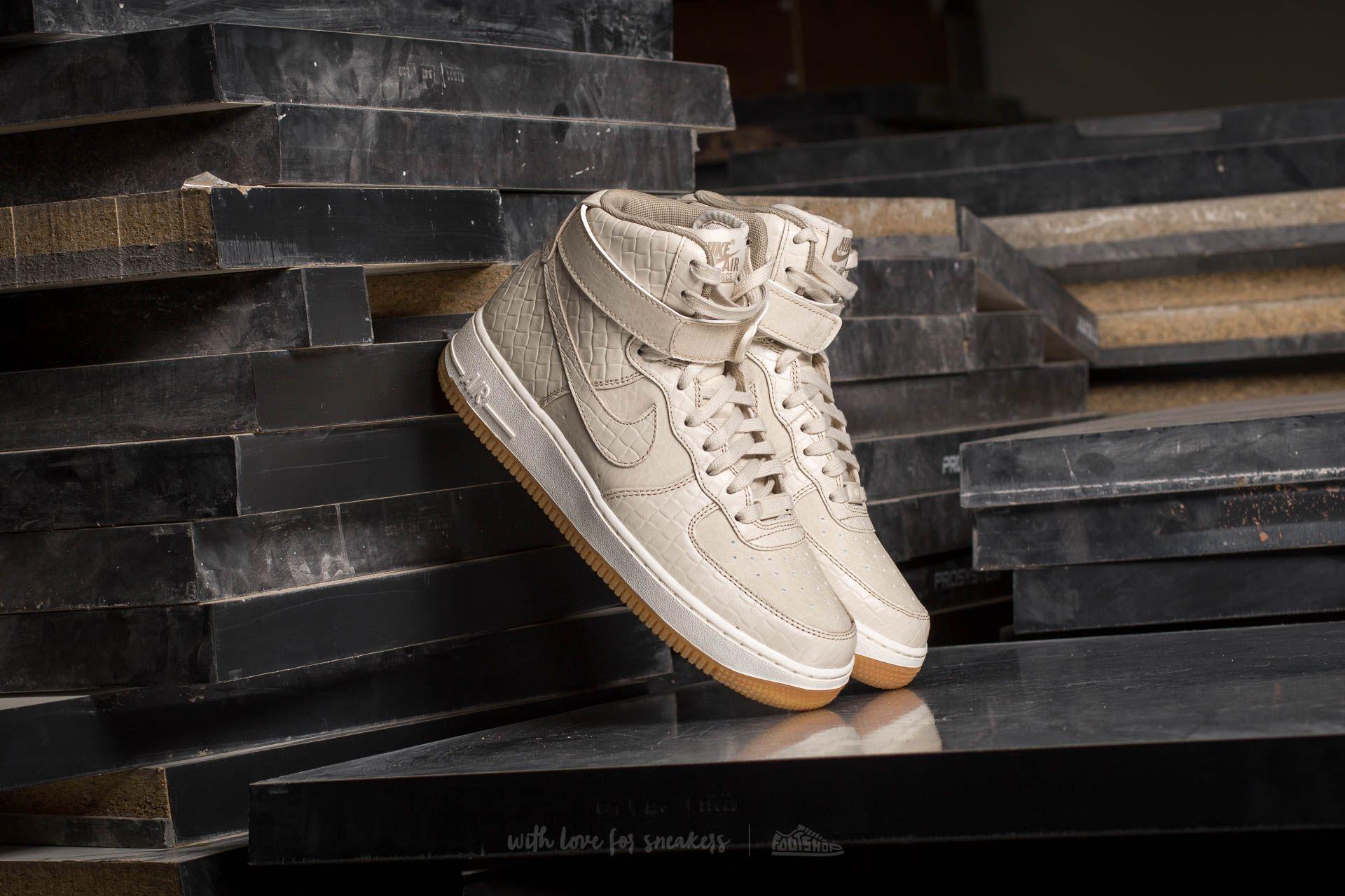 Nike Wmns Air Force 1 Hi Premium Oatmeal/ Oatmeal-Khaki-Sail